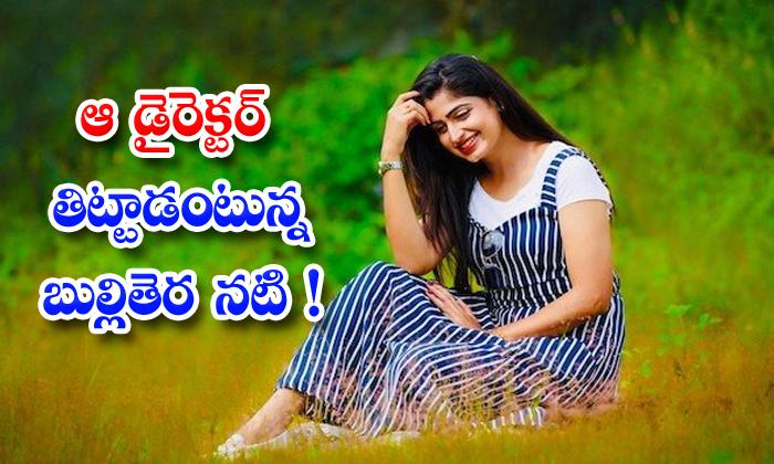 TeluguStop.com - Tv Actress Chaitra Rai Says Director Fire On Her