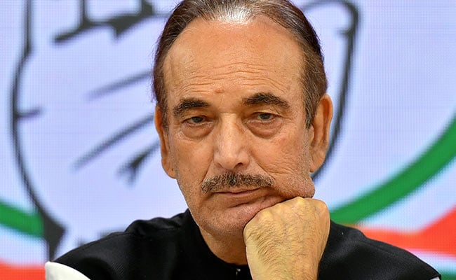 TeluguStop.com - Corona Positive For Congress Senior Leader Ghulam Nabi Azad
