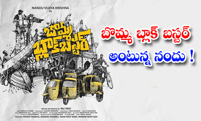 TeluguStop.com - Actor Nandhu Says Movie Is Blockbuster
