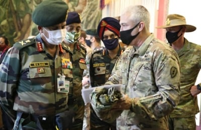 TeluguStop.com - Indian Army Vice Chief Meets US Army Counterparts To Enhance Military Cooperation-Latest News English-Telugu Tollywood Photo Image