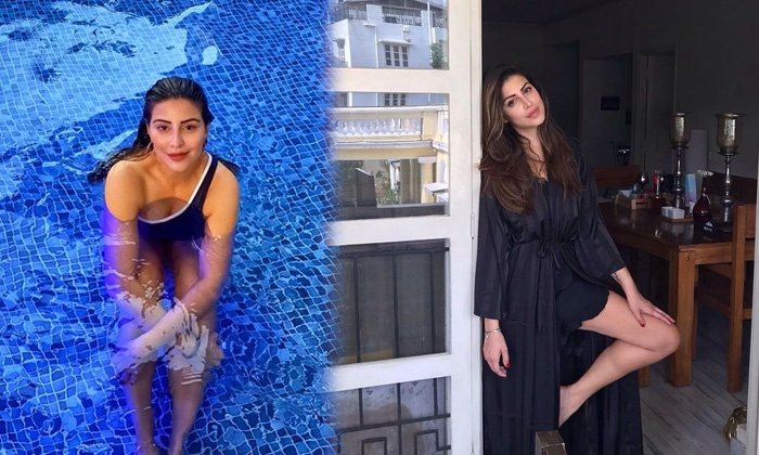 Karishma Kotak Spicy Images Will Make Your Heart Beat Faster-telugu Actress Hot Photos Karishma Kotak Spicy Images Will High Resolution Photo