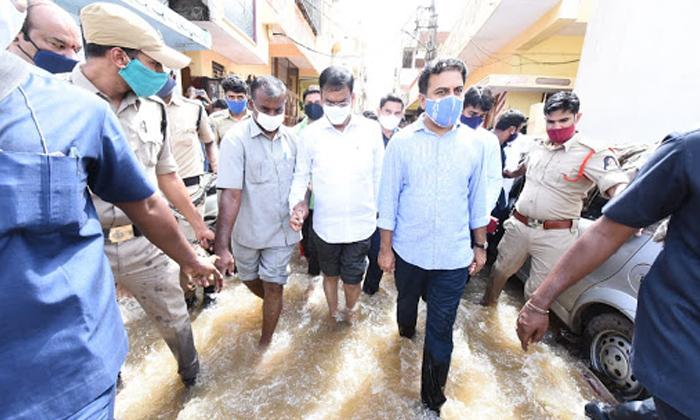 TeluguStop.com - బోరు మనిపించిన జోరువాన కేటీఆర్ కు కత్తి మీద సామే -Political-Telugu Tollywood Photo Image