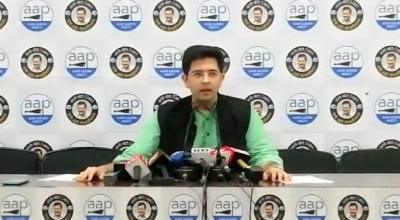 TeluguStop.com - Raghav Chadha Bats For Water Conservation, Green Mobility