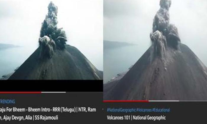Telugu Copy Allegations On Ramaraju For Bheem Teaser, Jr Ntr, National Geographic Channel, Ntr\\'s Ramaraju For Bheem Teaser, Raajmouli, Rajamouli, Ram Charan, Ramaraju For Bheem, Ramaraju For Bheem Teaser, Rrr New Teaser-Movie