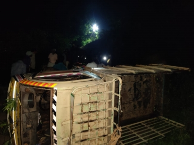TeluguStop.com - Seven Killed As Vehicle Rolls Off Hilltop In Andhra-Crime News English-Telugu Tollywood Photo Image
