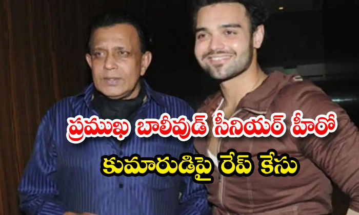TeluguStop.com - Rape Case On Mithun Chakrabortys Son Mahaakshay