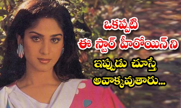 TeluguStop.com - Aapadbandhavudu Movie Fame Meenakshi Sheshadri Real Life