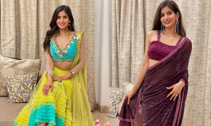 Bollywood Actress Sakshi Malik Beautiful Hd Viral Saree Images-telugu Actress Hot Photos Bollywood Actress Sakshi Malik High Resolution Photo
