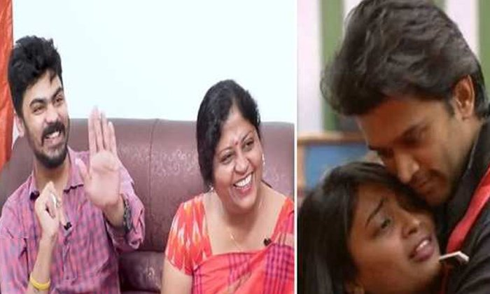 Telugu Abhijeet, Abhijeet With Harika, Bigg Boss Contestant Harika, Bigg Boss Contestant Harika Mother Clarifies Harika Marriage Rumours, Bigg Boss Harika, Bigg Boss House, Brother Vamshi, Dethadi Harika Marriage Rumors, Friendship, Harika Marriage Rumorus, Harika Mother Jyothika Clarity, Love Track, Mother Jyothika-Movie