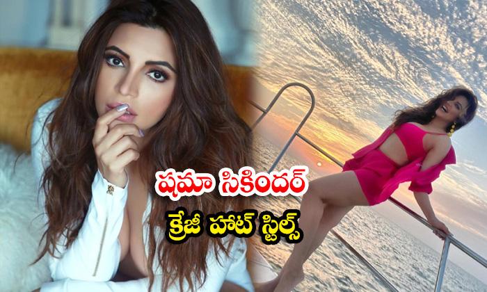 Glamorous Actress Shama Sikander Hot And romantic images -షమా సికందర్ క్రేజీ హాట్ స్టిల్స్