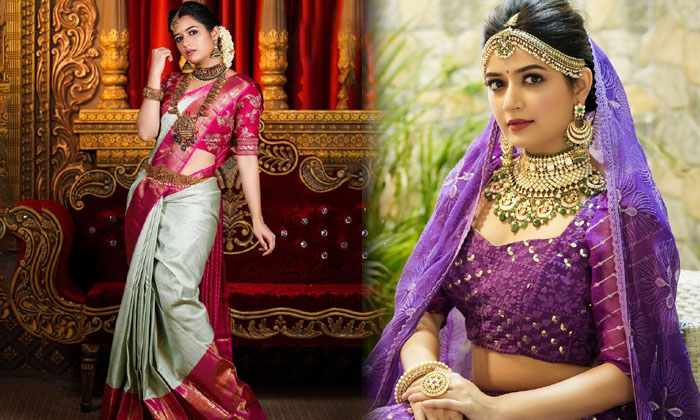 Glamorous Actress Ashika Ranganath Amazing Poses-telugu Actress Hot Photos Glamorous Actress Ashika Ranganath Amazing Po High Resolution Photo