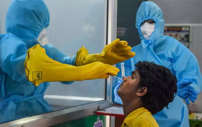 Telugu Corona Virus, Corona Virus Second Wave, Covid19, Gujarath, Gujarath Takes Strict Rule One No Mask-Latest News - Telugu
