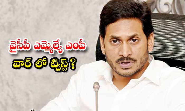 TeluguStop.com - Jagan Angry On Mla Mp War Issue