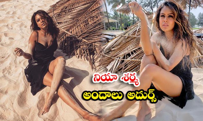 Popular TV actress Nia Sharma stunning mind blowing and Spicy images-నియా శర్మ పరువపు అందాలు షో