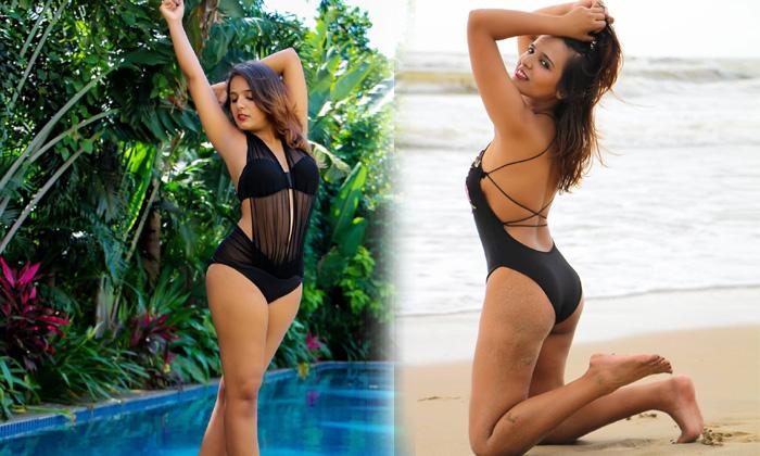 Professional Model And Actress Shreyal Pandey Romantic Poses-telugu Actress Hot Spicy Photos Professional Model And Actr High Resolution Photo
