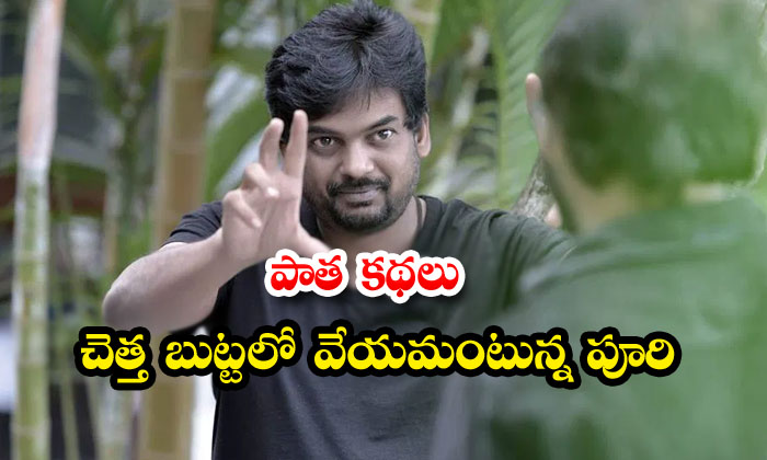 TeluguStop.com - Puri Jagannadh Suggests The Directors For Stories