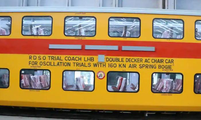 TeluguStop.com - వీడియో: వేగవంతమైన హైస్పీడ్ డబుల్ డెక్కర్ రైలు రెడీ..-General-Telugu-Telugu Tollywood Photo Image