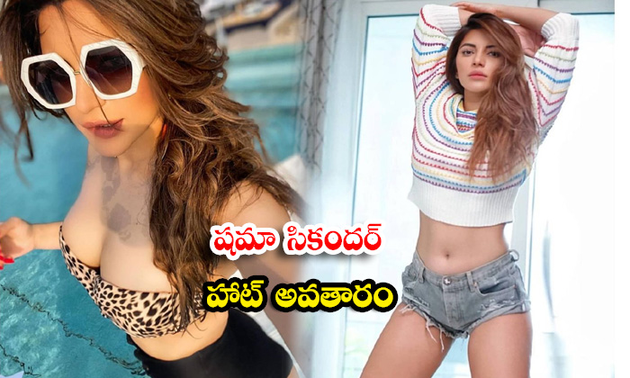 Shama Sikander flaunts her sexy and romantic in this picture-షమా సికందర్ హాట్ అవతారం