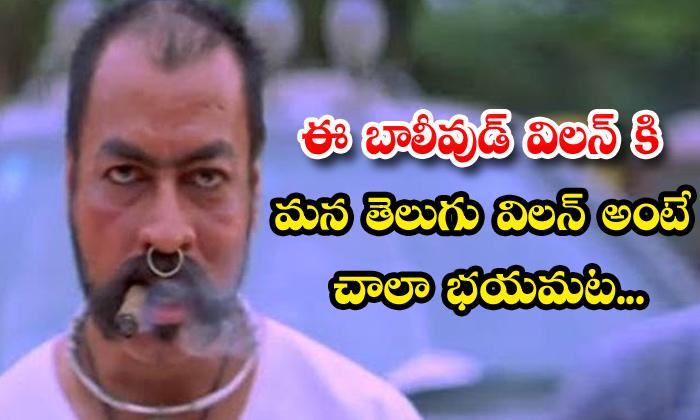 TeluguStop.com - Sye Movie Fame Pradeep Rawat Issue With Telugu Senior Actor