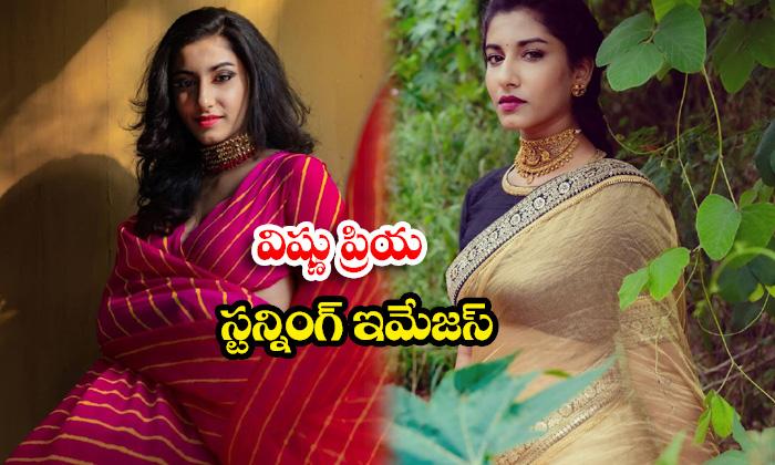 Telugu Beautiful anchor vishnu priya Stunning images-విష్ణుప్రియ స్టన్నింగ్ ఇమేజస్