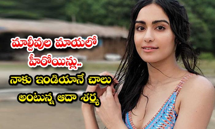 TeluguStop.com - Adah Sharma Shared Video About Maharajapuram