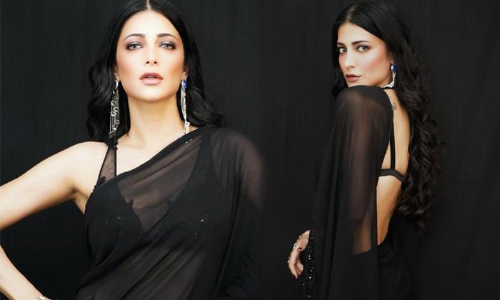 Tollywood Heroine Shruti Haasan Latest Pictures Telugu At Saree Beautiful Images Hd Photo Gallery Lates Telugustop