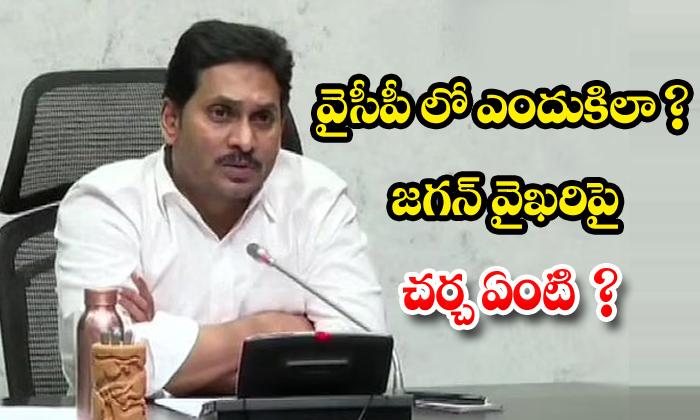 TeluguStop.com - Ysrcp Leders Not Satisfied On Jagan Behaviour