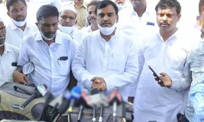 Telugu Amzad Basha, Andhra Pradesh, Ap Political News, Ap Politics, Chief Minister, Jagan, Jagan Mohan Reddy, Kind Heart, Ysrcp, Ysrcp Minister-Telugu Political News