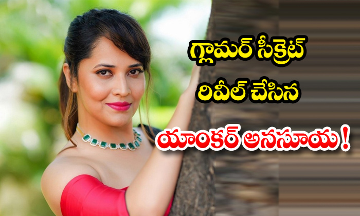 TeluguStop.com - Anchor Anasuya Reveals Another Glamour Secret In Social Media
