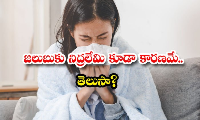 TeluguStop.com - Sleeping Problem Is Also Cause Of Cold