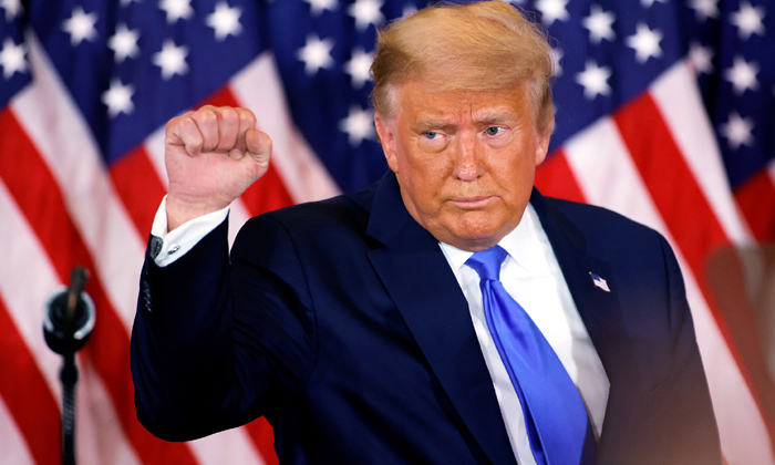 TeluguStop.com - President Trump Gives Thanks To Coronavirus Vaccine
