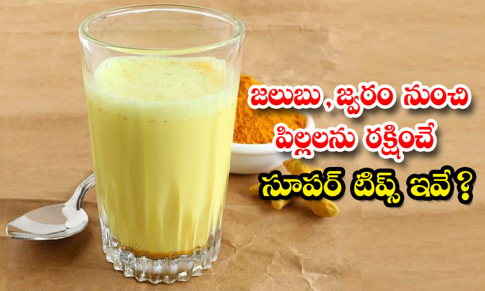 TeluguStop.com - Home Remedies For Get Rid Of Cold And Fever In Kids