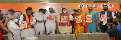 TeluguStop.com - Hyd Municipal Polls: Javadekar Gives Boost To BJP Campaign-Latest News English-Telugu Tollywood Photo Image
