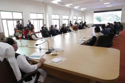 TeluguStop.com - Nadda Reviews Construction Of AIIMS Bilaspur-Health Tips English-Telugu Tollywood Photo Image