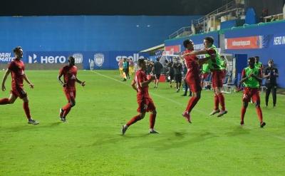 TeluguStop.com - NorthEast United Grind Out 1-0 Win Over Mumbai City-Latest News English-Telugu Tollywood Photo Image