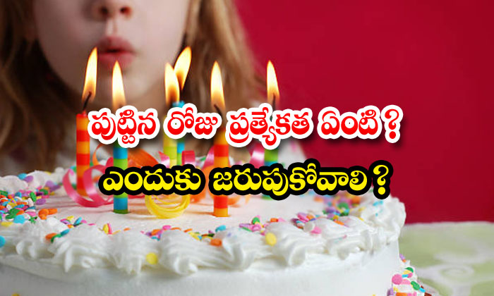 TeluguStop.com - Specility Of Birthday In Hindu Rituals