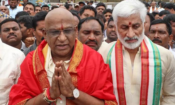 Telugu Ap, Ap Political News, Ap Politics, Bjp, Chandra Babu, Jagan Babai Sensational Decisionone Step Total Check, Lord Balaji, Political Stratagies, Sri Venkateswara Swamy, Tdp, Ttd, Web Site, Ysrcp-Political