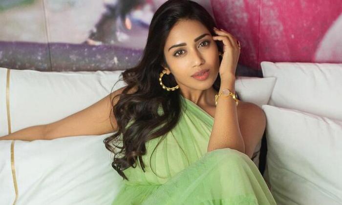 TeluguStop.com - Pic Talk: Nivetha Pethuraj Gleams In Green-Latest News English-Telugu Tollywood Photo Image
