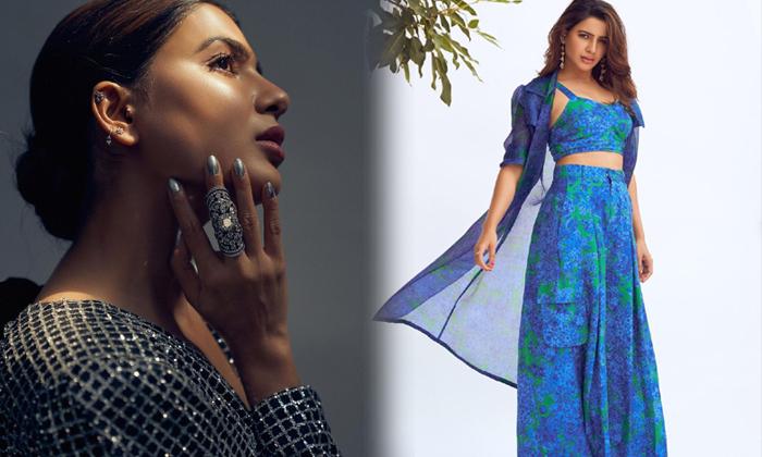 Actress Samantha Akkineni Stunning Hd Images-telugu Actress Hot Photos Actress Samantha Akkineni Stunning Hd Images - Te High Resolution Photo
