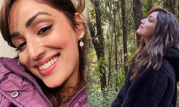 Actress Yami Gautam Trendy Viral Clicks-telugu Actress Hot Photos Actress Yami Gautam Trendy Viral Clicks - Telugu Hot S High Resolution Photo