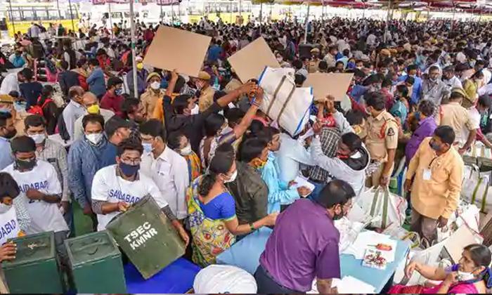 Telugu Bjp, Congress, Elections, Ghmc, Greter, Mim, Poling, Trs, Voter, Voting-Political