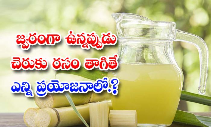 TeluguStop.com - Benefits Of Sugarcane Juice During Fever