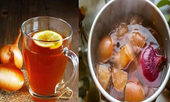 Telugu Cold, Cough, Health Tips, How To Make Onion Tea, Immunity Power, Onion Tea, Wonderful Health Benefits Of Onion Tea-Telugu Health - తెలుగు హెల్త్ టిప్స్ ,చిట్కాలు