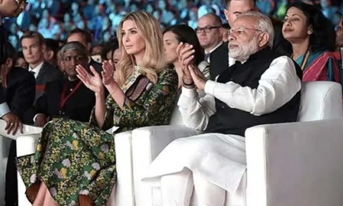 Telugu Compete As Us Presidential Candidate, Friendship With India, Ges Meeting, India Is A Great Country, India Tour, Ivanka Trump, Trump-Telugu NRI