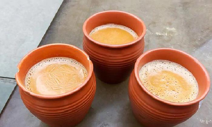 Telugu Coffee, Eco Friendly Kulhad, Kulhads To Replace Plastic Tea Cups At Indian Railway Stations, Kulhai Chai, Plastic Tea Cups, Pot Chai, Railway Minister Piyush Goyal, Railway Station, Tea-Latest News - Telugu
