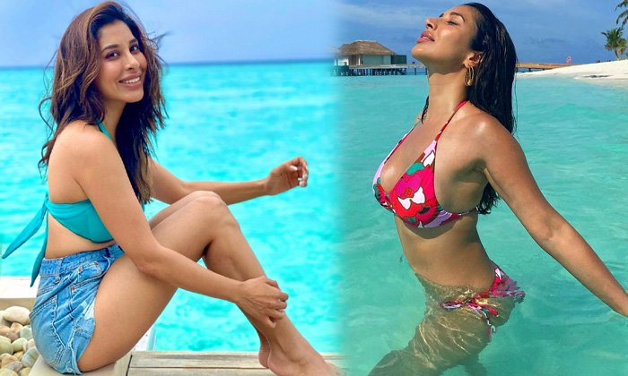 Mtv India Occasional Model Sophie Choudry Beach Vacation Images-telugu Actress Hot Spicy Photos Mtv India Occasional Mod High Resolution Photo