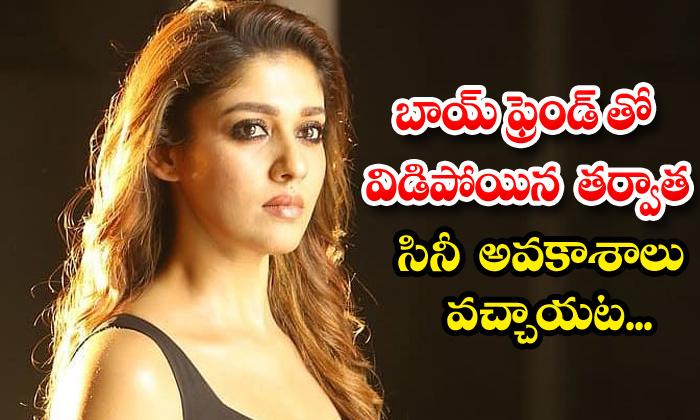 TeluguStop.com - Telugu Star Heroine Nayanthara Love Breakup And Movie Career News