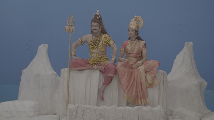 TeluguStop.com - నాగభైరవి లో శివుడు మరియు పార్వతి గా ప్రజ్వల్ ఇంకా అనూష హెగ్డే-Latest News - Telugu-Telugu Tollywood Photo Image