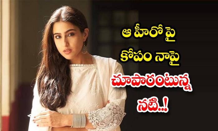 TeluguStop.com - David Was Angry At Varun But Vented On Me Says Sara Ali Khan