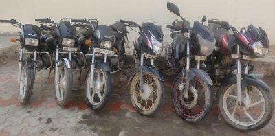 TeluguStop.com - Gurugram: Two Bike Lifters Arrested, Six Vehicles Recovered-Crime News English-Telugu Tollywood Photo Image